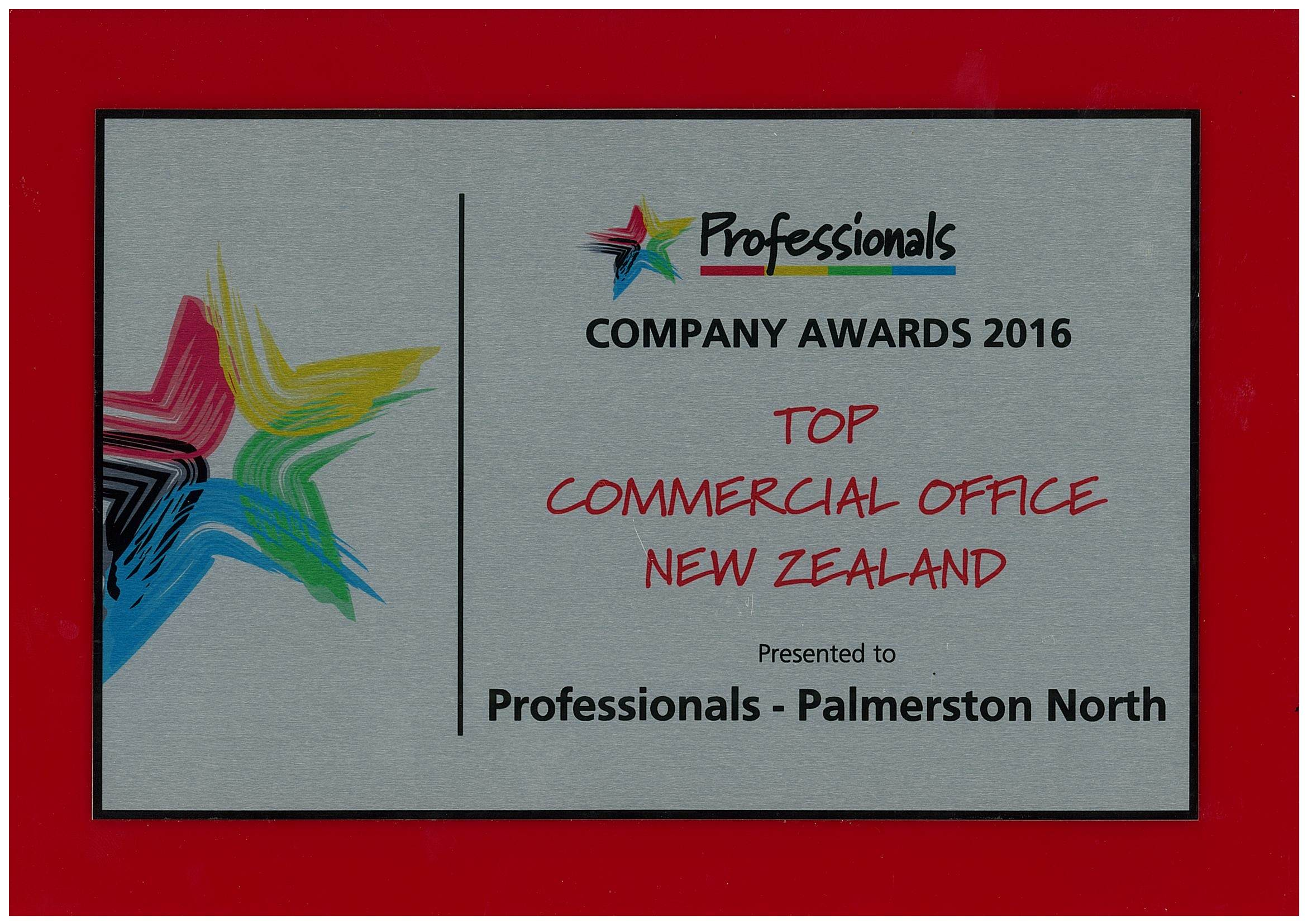 Commercial Office Award 2016