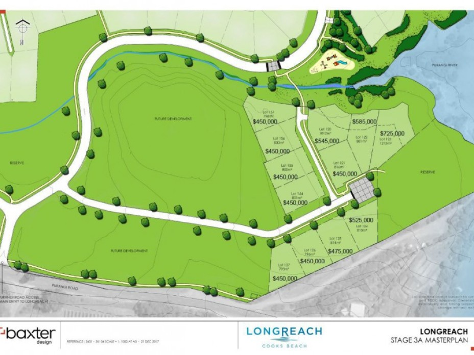 Lot 124 Longreach Section - Stage 3, Cooks Beach