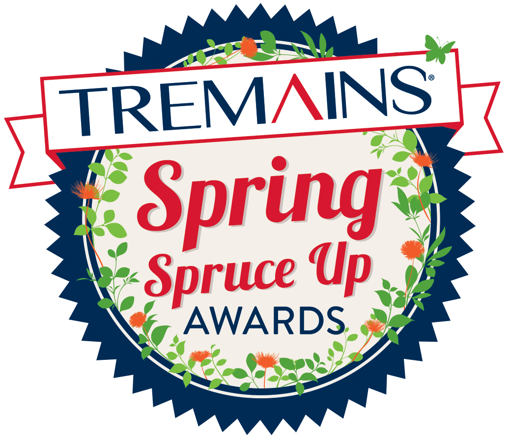 Tremains Spring Spruce Up