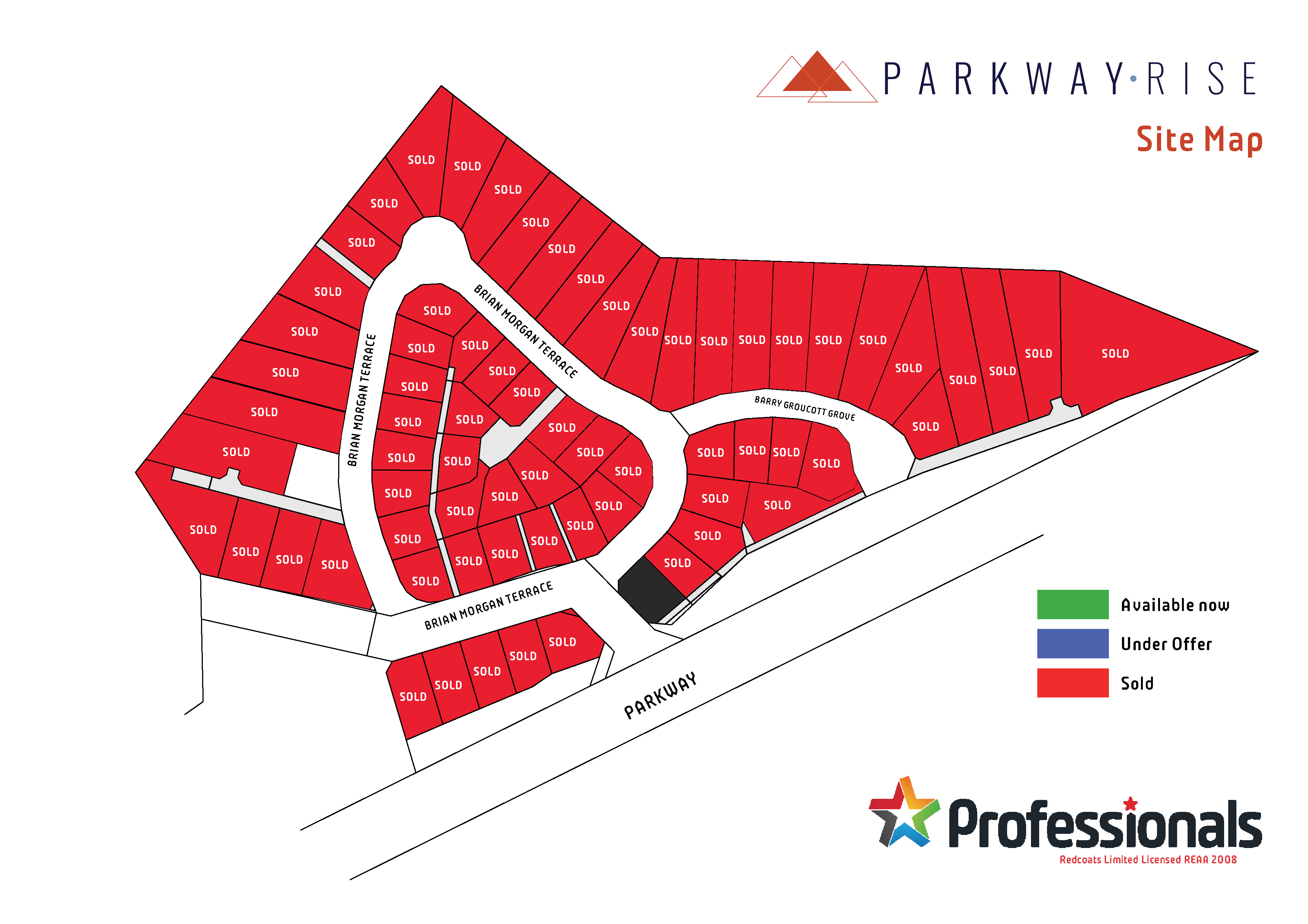 Parkway Rise sitemap