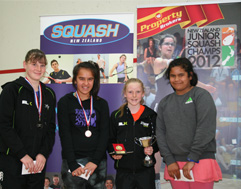 Junior Squash champs