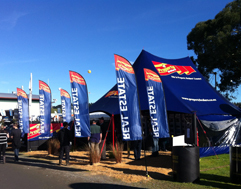 Property Brokers tent
